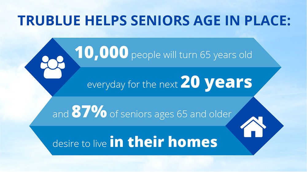 Age in Place Infographic