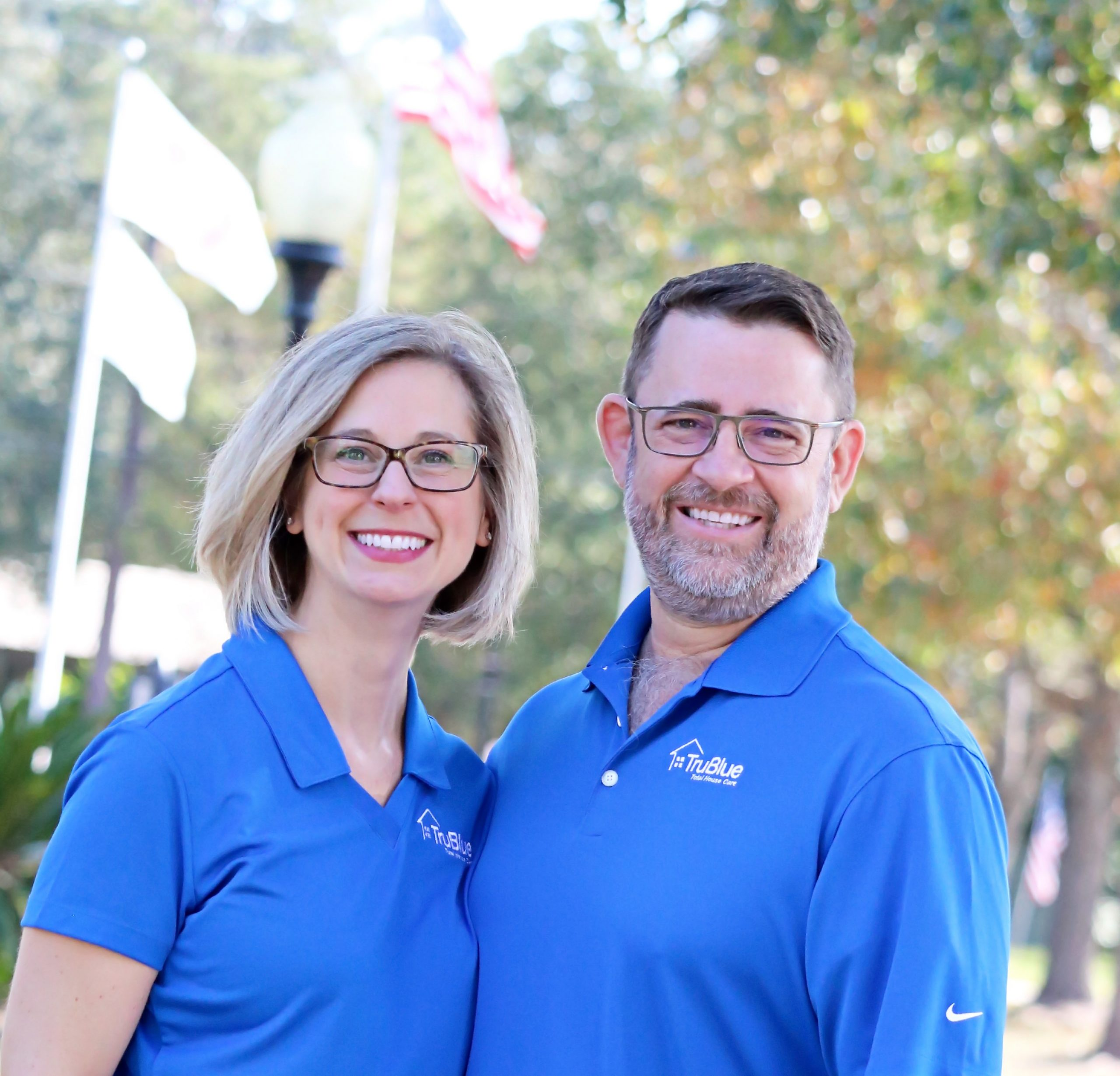 Scott & Jenn Long New TruBlue owners
